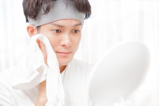 炭酸泡洗顔は男性にもオススメです!
